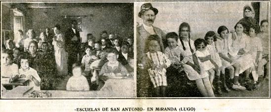 Escuelas de S. Antonio - Miranda - Lugo